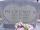 Profile photo:  Paul B Corry Jr.