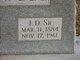 """Isaac Denton """"I.D."""" Sidwell, III"""