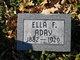 Profile photo:  Ella I. Aday