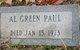 Profile photo:  Al Green Paul