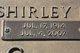Shirley Emily <I>GAUMER</I> HICKS