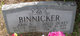 "John Sanders ""Johnnie"" Binnicker"