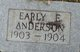 Early E. Anderson