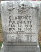 Clarence Fulbright