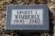 Ernest L Wimberly