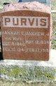 Profile photo:  Hannah Elizabeth <I>Gardner</I> Purvis
