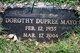 Dorothy <I>Dupree</I> Mayo