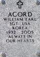 Profile photo:  William Earl Acord