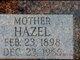 Hazel <I>Stanton</I> Warehime