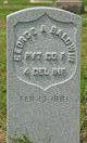 PVT George A. Baldwin