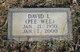 """David L. """"Pee Wee"""" Blackwell"""