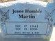 Jeane <I>Humble</I> Martin