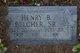 Profile photo:  Henry B Belcher, Sr