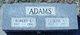 "Profile photo:  Robert Edward ""Bud"" Adams"