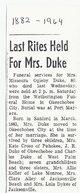 Missoura Oglesby Duke