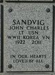John Charles Sandvig