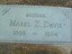 Mabel Z Davis