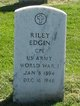 "Riley "" "" <I> </I> Edgin,"
