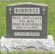 Anna M. <I>McDonald</I> Burridge