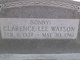 "Clarence Lee ""Sonny"" Watson"