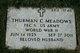 Thurman Carlos Meadows
