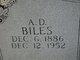 Profile photo:  A D Biles