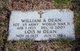 William A Dean