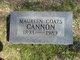 Willie Maureen <I>Coats</I> Cannon