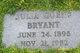 Julia Lynch <I>Goens</I> Bryant
