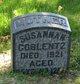 Susannah C <I>Stouffer</I> Coblentz