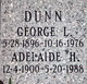Profile photo:  Adelaide Lillian <I>Hughes</I> Dunn