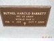 PFC Buthel Harold Barrett