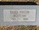 Hazel Gladys <I>Cossin</I> McIntyre