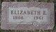 "Elizabeth Ethel ""Lizzie"" <I>Trimpa</I> Preston"