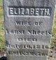 Elizabeth <I>Kuntz</I> Sheets