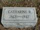 Profile photo:  Catharine Rebecca <I>Keeny</I> Attig