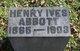 Profile photo:  Henry Ives Abbott