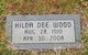 Hilda <I>Guthrie</I> Wood