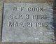 Benjamin Franklin Cook
