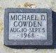 Michael D. Cowden