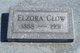 Profile photo:  Elzora <I>Parrish</I> Clow