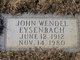 John W Eysenbach