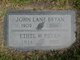 "Profile photo:  John Lane ""Honest John"" Bryan, Sr"