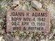Joann R Adams