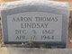 Profile photo:  Aaron Thomas Lindsay