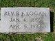 Profile photo: Rev B F Logan