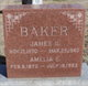 Profile photo:  Amelia <I>Lane</I> Baker