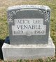 Profile photo:  Alice Lee <I>Young</I> Venable