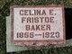 Profile photo:  Celina E. Baker
