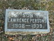 Lawrence A Persons